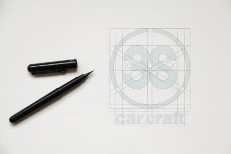 自動車関連サービスのシンボルマークとロゴが出来るまで。【ロゴデザインの作り方 Vol.1】