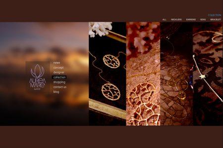 Web制作実績 aureamare juwel 02
