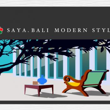 バリ島のイメージをWebサイト用に書き起こしたイラストレーション。