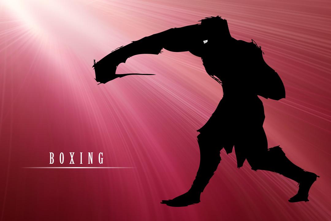 SHP Dent. かながわ スポーツイラスト ボクシング