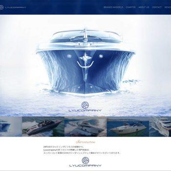 ラグジュアリーな世界観をシンプルに表現したブランドサイト制作。